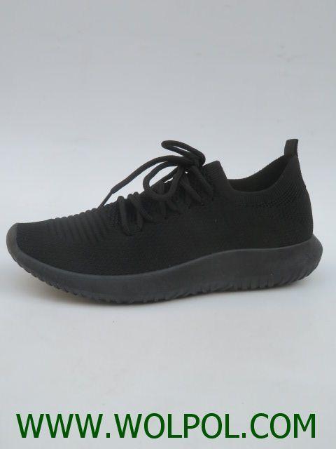 Sportowe Damskie R247 36 41 Black Sneaker Shoes All Black Sneakers