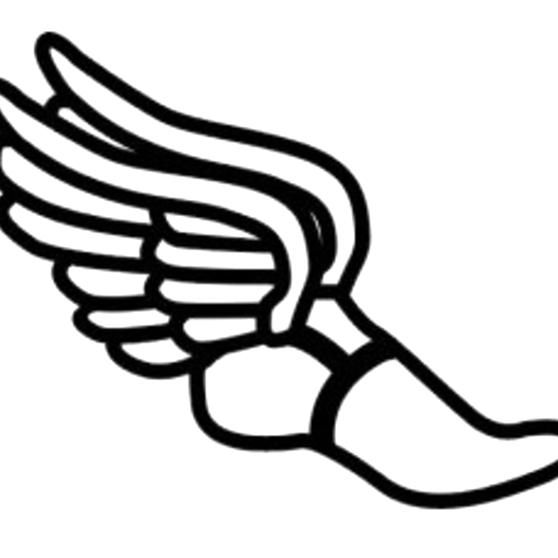 Track Shoe With Wings Clip Art In 2020 Running Shoes Tattoo Shoe Tattoos Running Tattoo