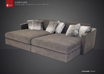 Cosymo Is The Ultimate Modular Sofa Sectional Sofas San Francisco Cineak Luxury Seating Home Theater Media Room Pinterest So