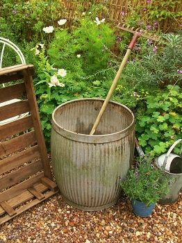 I have eight of these 'Dolly Tubs'. They were originally used for washing clothes. As they get more popular for other uses the prices are increasing. I purchased all eight full of plants two years ago for....twenty pounds (UK). I have also seen them used ,with a wooden top on as tables!