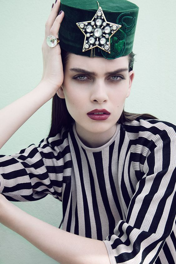 visual optimism; fashion editorials, shows, campaigns & more!: maria palm by olivia frølich for elle denmark june 2014