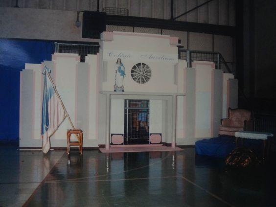 Maquete da fachada do Colégio Auxilium