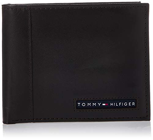 Tommy Hilfiger De Los Hombres Stockton Piel Passcase Billfold Wallet Tommy Hilfiger Leather Wallet Mens Tommy Hilfiger Man Tommy Hilfiger Mens Wallet
