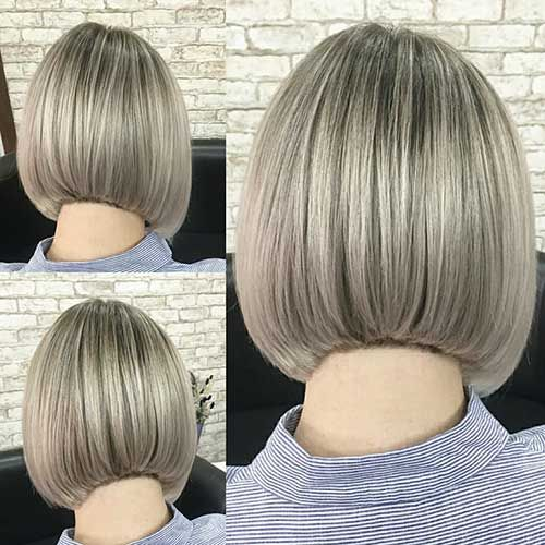 Short Hairstyles Back View Inverted Bob Bobs Haircuts Back Of Bob Haircut Bob Hairstyles