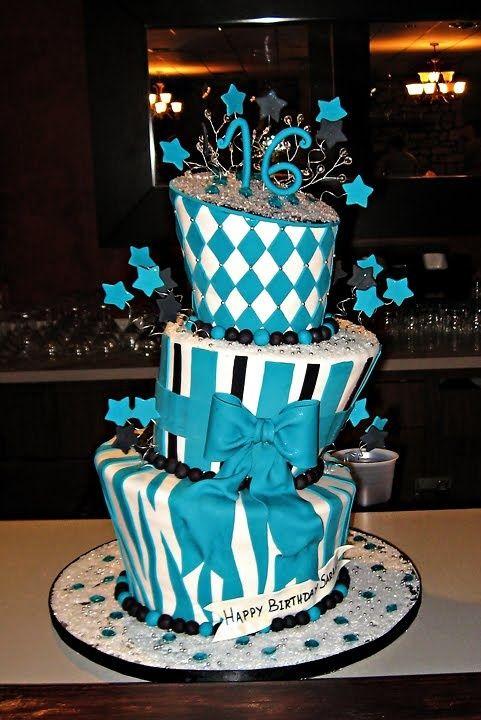 Love topsy turvy cakes