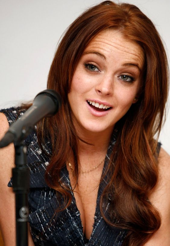 What were lindsay lohan's grades like in school?