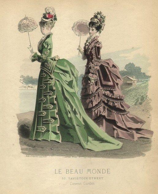 1875 La Beau Monde Covent Garden: