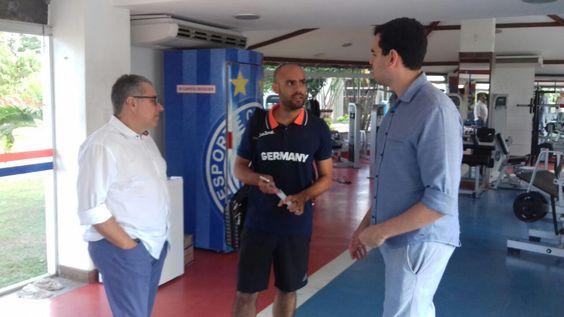 Presidente do Bahia revela Fazendão como CT da Alemanha na Olimpíada #globoesporte