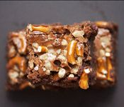 14 Days of Chocolate, Day 9: The Crepes of Wrath's Pretzel-Toffee Brownies by