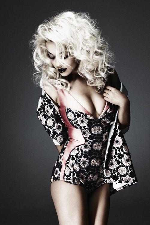 Singer Rita Ora by Damon Baker for Sunday Times Style Magazine April 2012