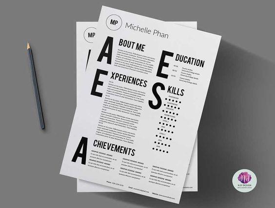 Modelos de curriculum vitae modernos y elegantes Curriculum - modelos de resume