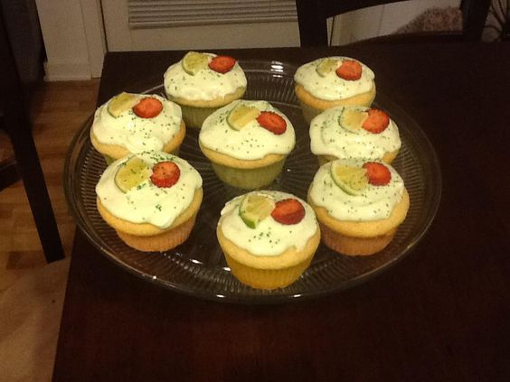 Strawberry Surprise Cupcakes with Lime-Spiked Frosting | Frostings ...