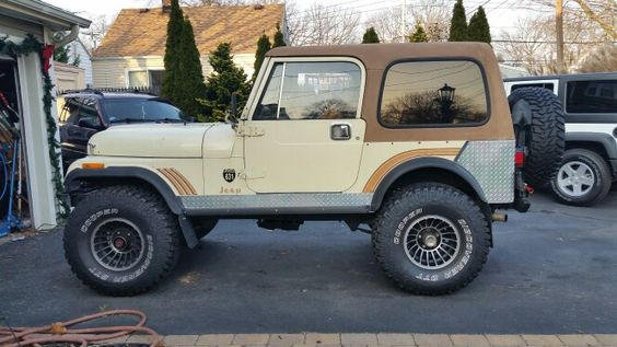 My Old 1986 Cj7 111000 Miles 4 Inch Lift 35 Inch Tires