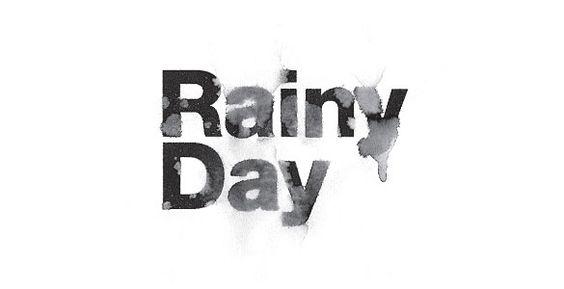 Toko / Rainy Day #design #identity #logo