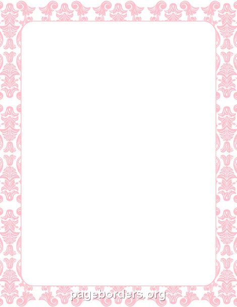 Printable red bandana border Use the border in Microsoft Word or – Creating an Invitation in Word