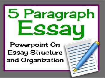 Writing a five paragraph essay ppt presentation