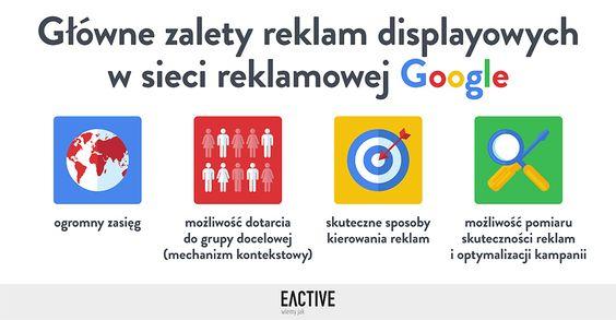 Sprawdź, jakie są główne zalety reklam displayowych w sieci reklamowej Google!