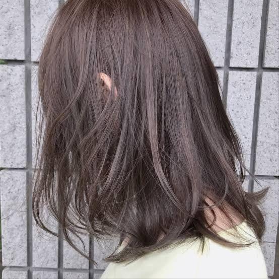 今一番おしゃれなカラー ラベンダーアッシュの髪色 髪 色