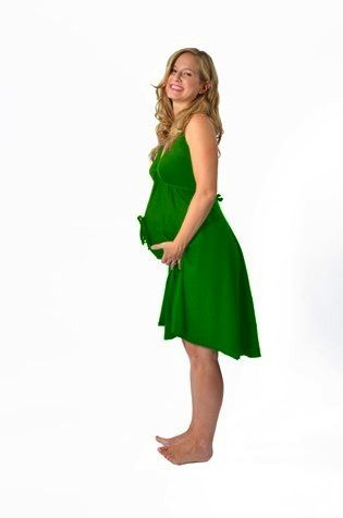 $24 Green Delivery Gown (I want this, even though I guess it's silly...)