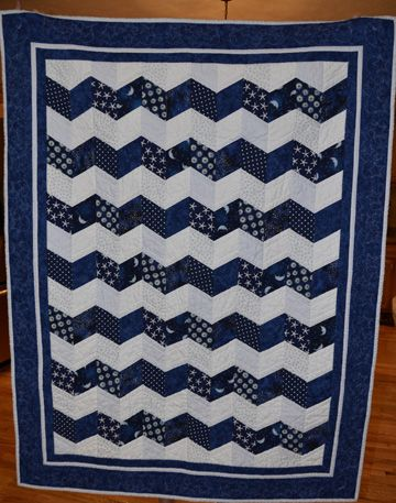 "Jackson's Quilt ""To the Moon and Back"""