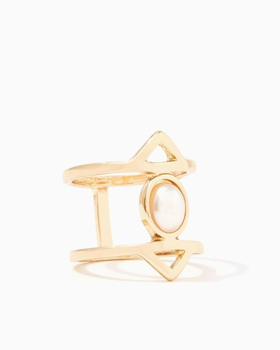 Split Triangle Ring ($3.99)