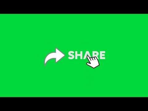 Green Screen Share Button Youtube Greenscreen Green Screen Video Backgrounds Green Screen Backgrounds