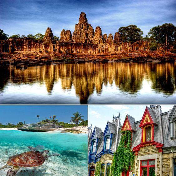 Os mais incríveis destinos de lua-de-mel (dentro do seu orçamento) | The Most Amazing (but Budget-Friendly) Honeymoon Destinations.