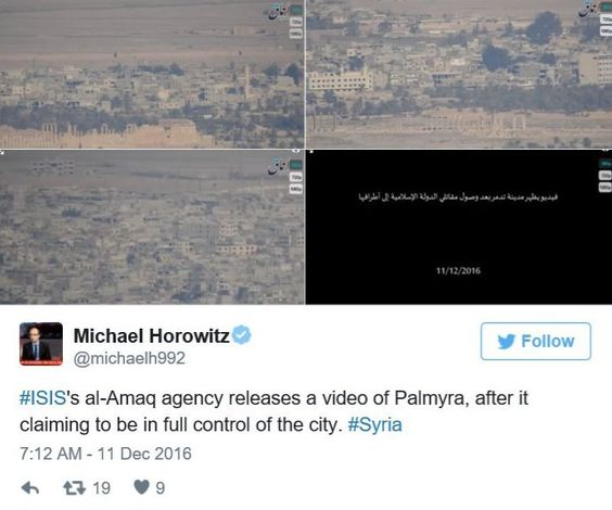 ISIS Recapture Palmyra in Syria As Pentagon Do Nothing | CNN NEWS NETWORK