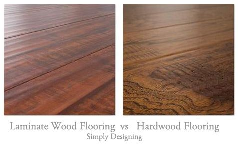 laminate wood flooring vs real hardwood flooring the pros and cons