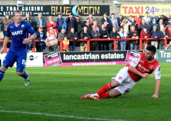 Morecambe produced the performance of the day – and the shock of the day – with a sensational second-half comeback to beat the league leader...
