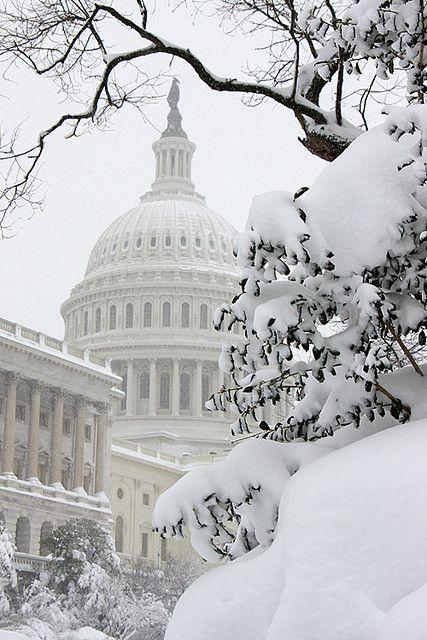 Capitol Building, Washington DC snow blizzard of 2010 - ©Ian Livingston www.flickr.com/photos/ianlivingston/4364584424/in/set-72157623443621264
