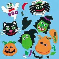 Figuras de foamy de Halloween