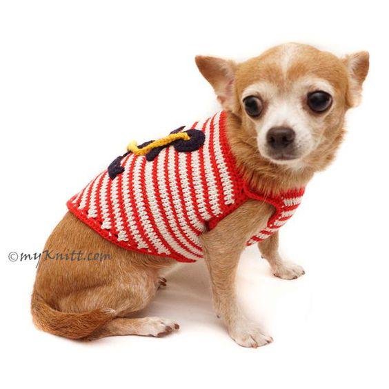 Sailor Anchor Dog Costume, Sailor Navy Pet Costume, Captain Marine Dog Costume, Funny Halloween Cost