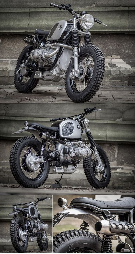 Down & Out BMW Scrambler :: via The Bike Shed