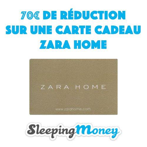 70 De Reduc Chez Zarahome E Carte Cadeau Cheque Cadeau Zara Home