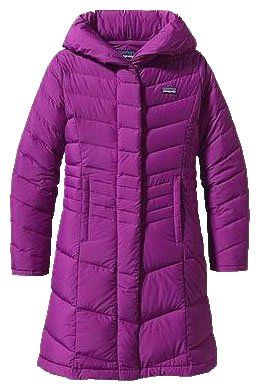Patagonia Girls' Down Coat Ikat Purple-X-Small | Warm Chic and Girls
