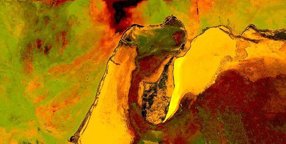 Behance :: Editing TC_Texturas Pictóricas_Google Earth by _Teresa Castro