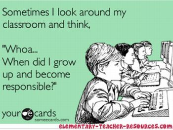 haha. Okay, that thought is usually followed by random singing, dancing, or some other craziness, but still....