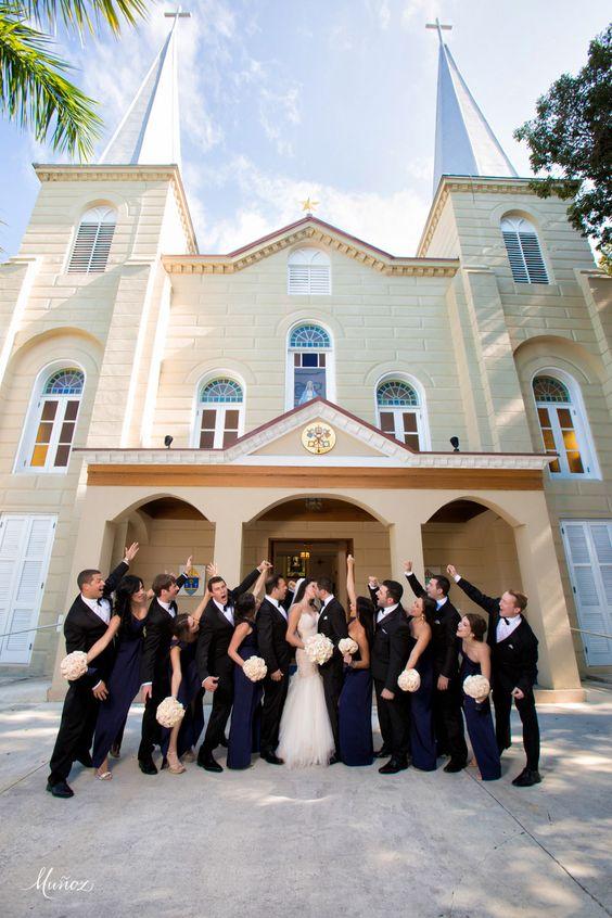 WEDDING | SUNSET KEY COTTAGES -  Munoz Photography - The Basilica of Saint Mary Star of the Sea