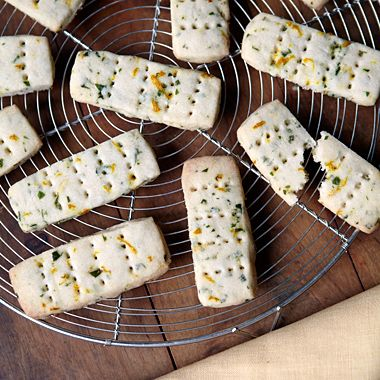 Herb Shortbread These sweet/savory cookies are perfect served after ...
