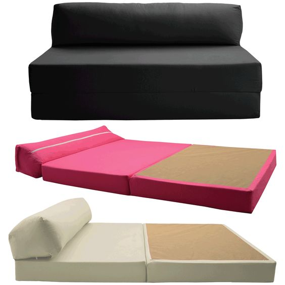 Details About Sofabed Double Chair Bed Z Guest Fold Out