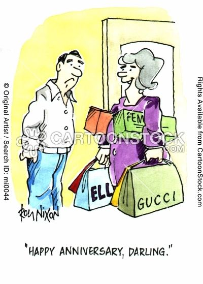 Funny cartoons about marriage gucci over the hill humor