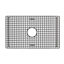 "27"" X 16"" Bottom Grid In Stainless Steel - A bottom grid designed to fit the artisan crafted Farmhouse sink from Native Trails. Each grid is created to match the coloring and size of our Farmhouse sinks and is available in either the mocha finish or in stainless steel. Available at Kitchen Cabinet Kings."