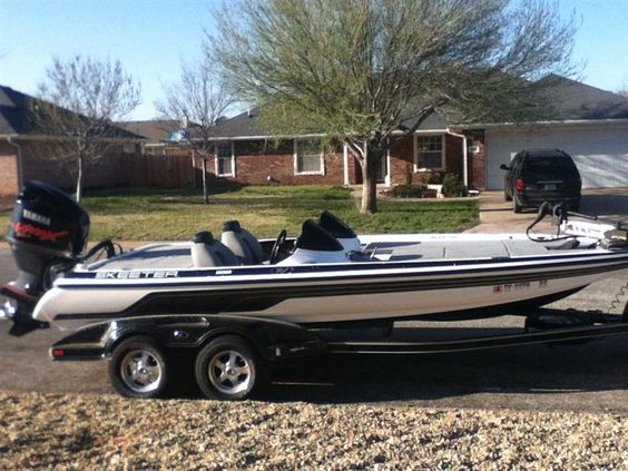 2009 Skeeter 20i Class With Trailer