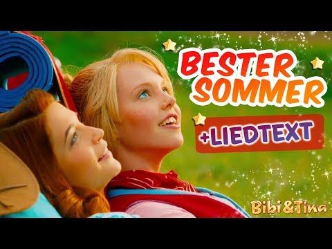 Bibi Tina Der Beste Sommer Jetzt Mit Lyrics Zum Mitsingen Youtube Bibi Und Tina Kinder Videos Madchen Gegen Jungs