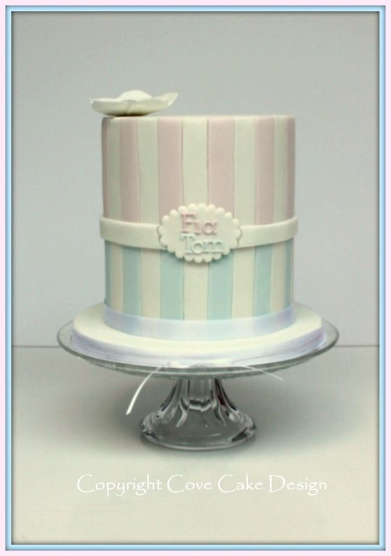 Christening Cake Designs For Twins : Twins christening cake ? Let Us Eat Cake! Pinterest ...