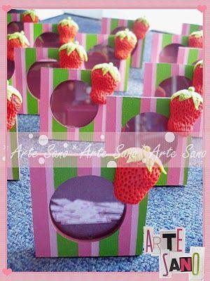 Arte Sano: Mmm Frutillas!!!F