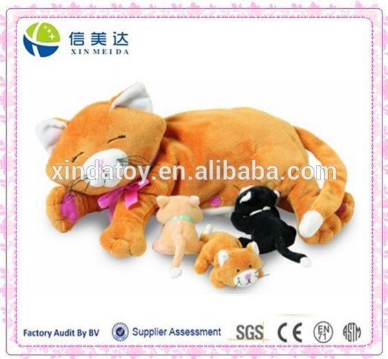 Симпатичные нина кошка с детские кошки мягкие плюшевые игрушки-картинка-Набитые и плюшевые игрушки-ID продукта:60114598286-russian.alibaba.com