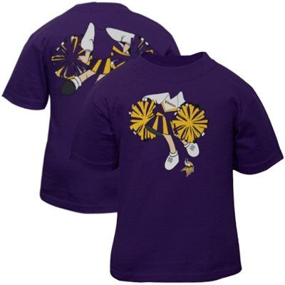 Minnesota Vikings Infant Girls Dream Job T-Shirt – Purple In Stock - Receive by December 19th Regular Price: $15.95  Sale Price: $12.76  You Save: $3.19   Select Size Size Chart 12 MO18 MO24 MO