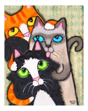 :-) cats
